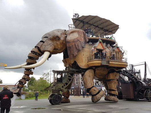 Macchina dell'Ill de Nantes - Elefante Foto by www.voicesearch.travel