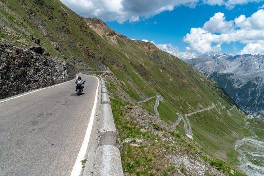 Moto in montagna