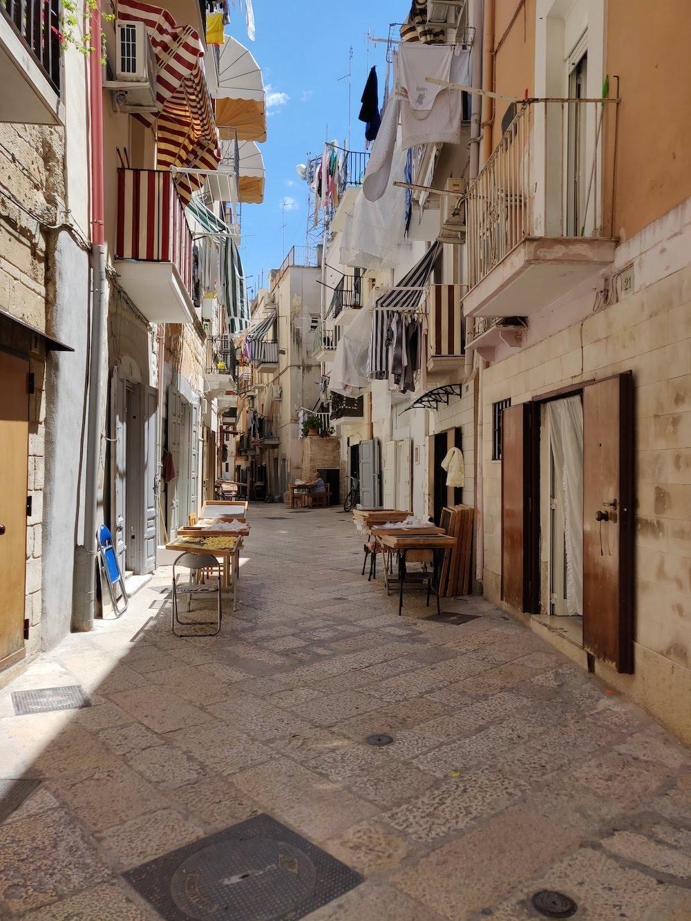 Arco Basso, Bari Vecchia