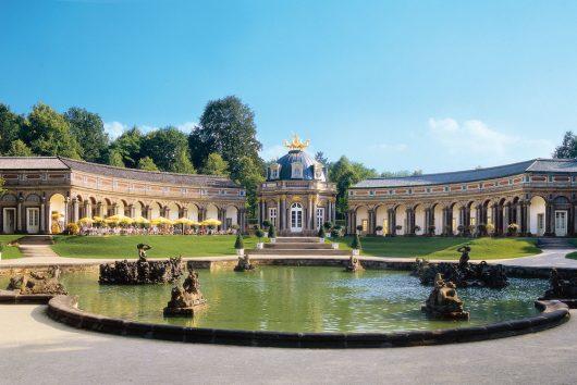 Eremitage Orangerie mit Sonnentempel (c) Bayerische Schlösserverwaltung